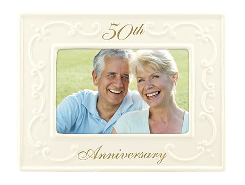 50th Anniversary photo frame | Cards Plus