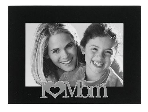 I Love Mom Photo Frame Cards Plus
