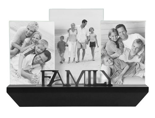 Family 3 Frames With Shelf Cards Plus