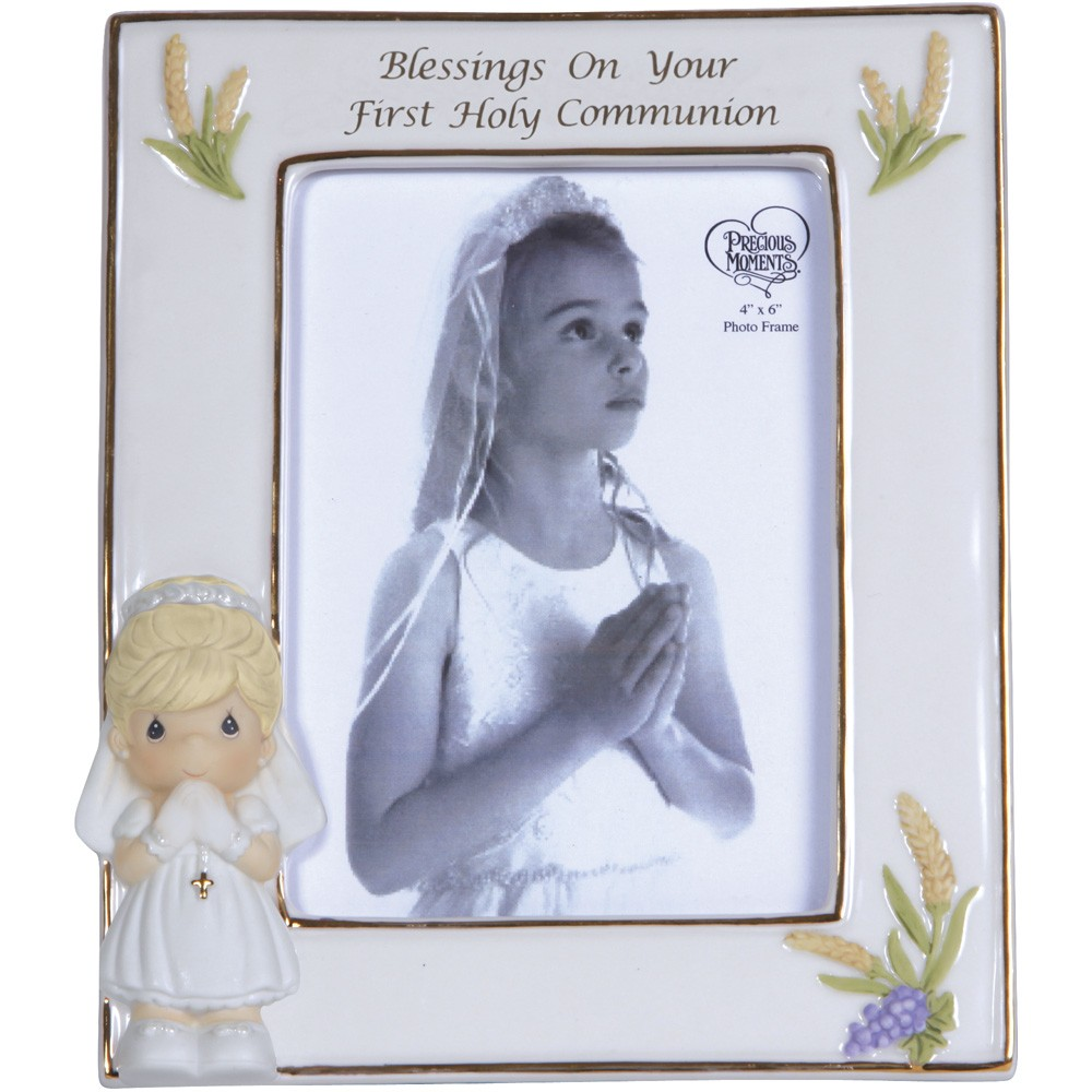 Porcelain Communion Photo Frame Cards Plus