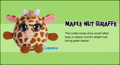 maple nut giraffe